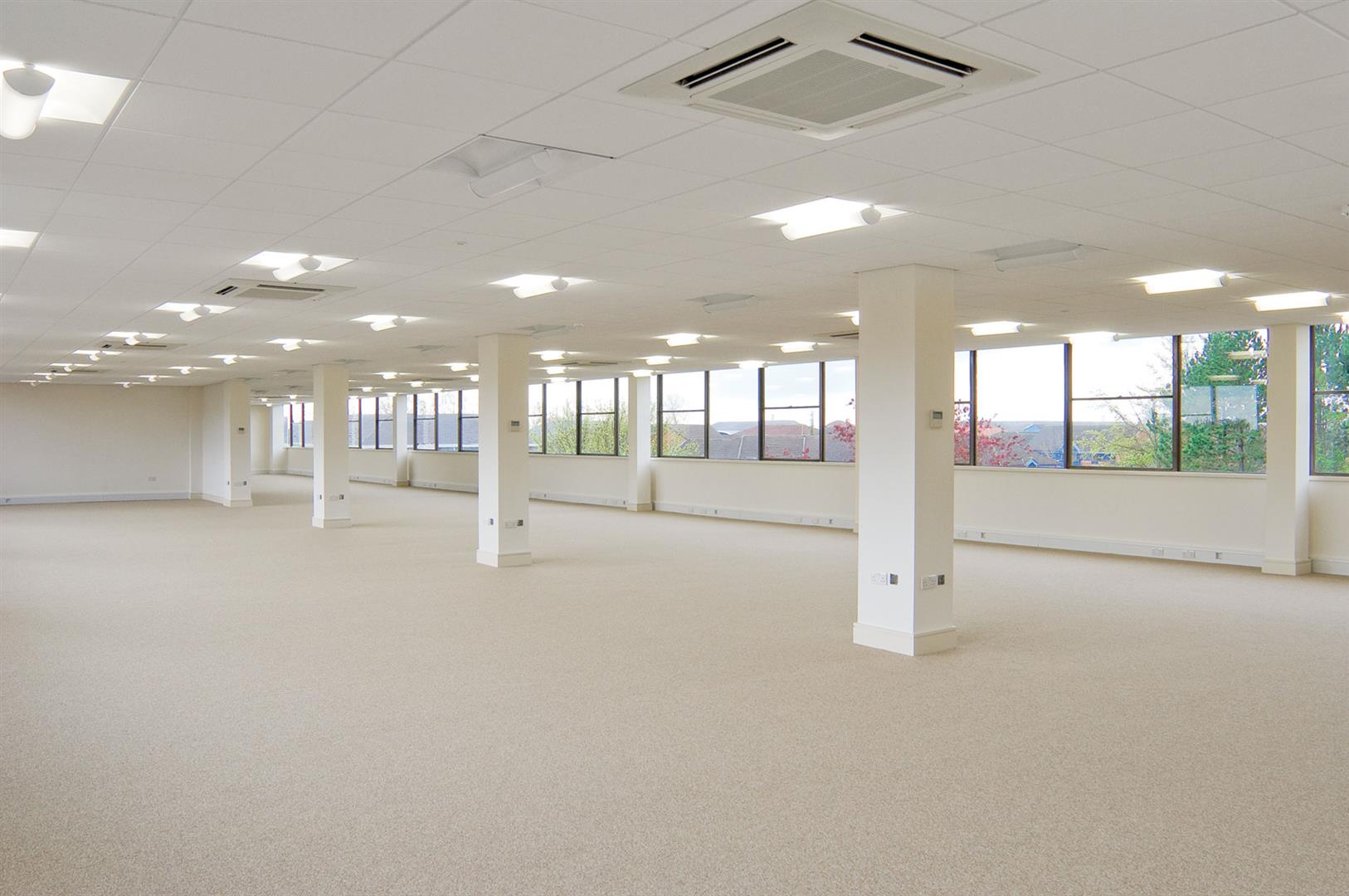Cranmore Place empty office space
