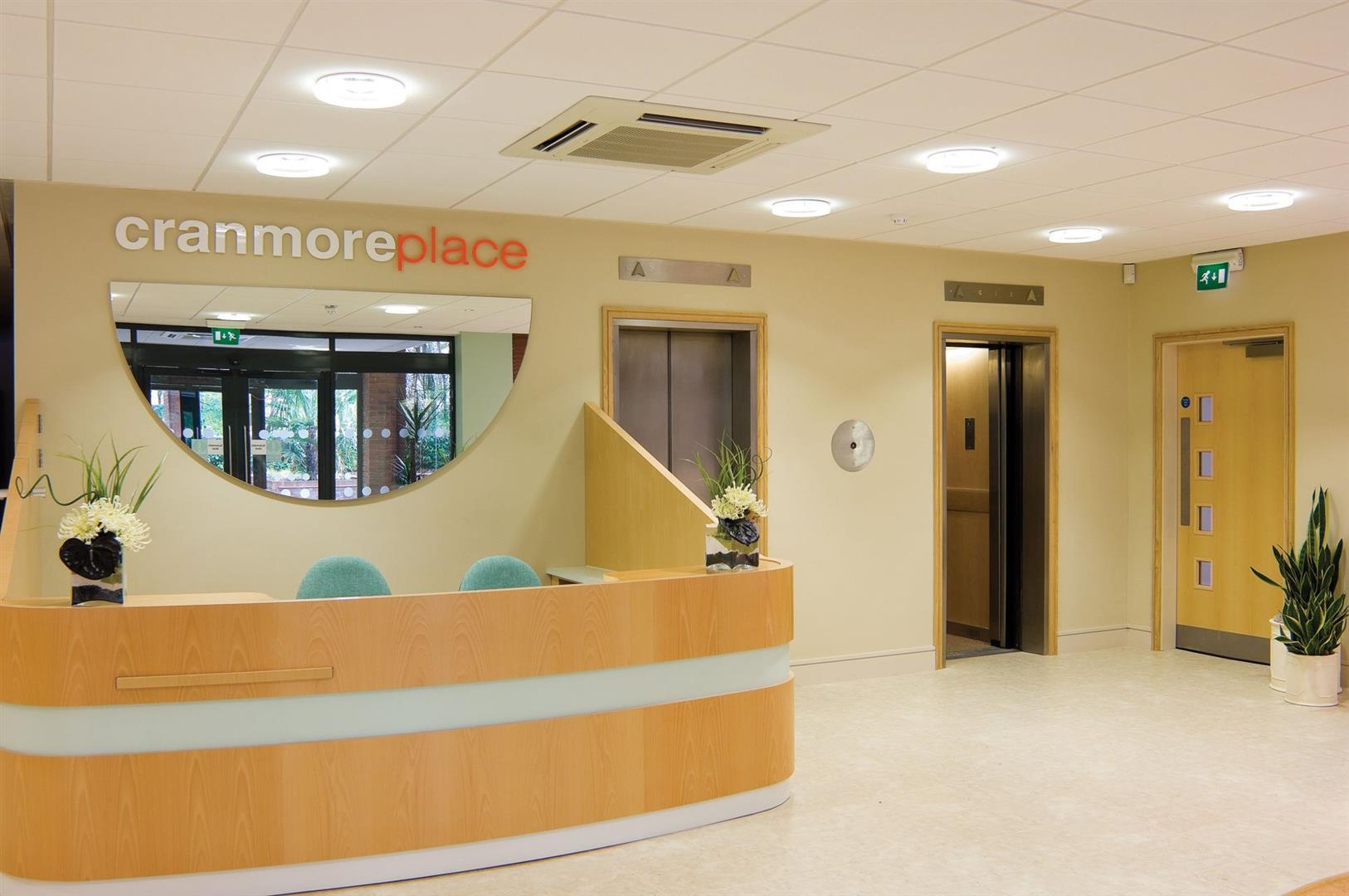 Cranmore Place reception